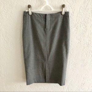 Banana Republic Pencil Skirt Front Slit 2